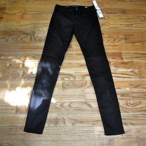 LONG TALL SALLY JEGGING Black Jeans Sz 8 Denim